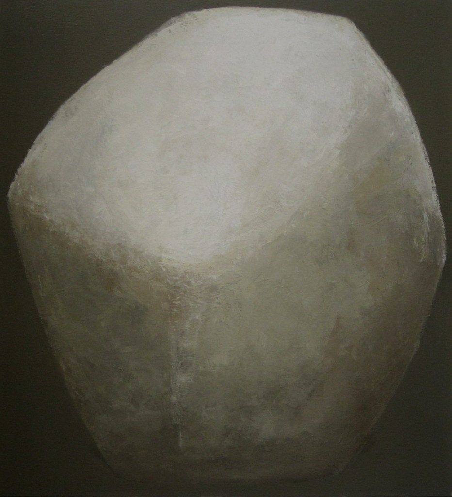 Portrait of a stone - 2020 - 100 x 110cm - oil on canvas