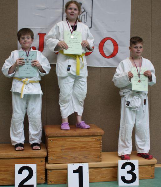 + 46 kg von links Nandor Szabo-Lulic, Cilina Schwiemann, Chris Jonat