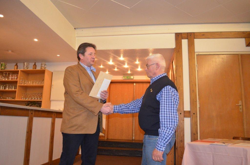 Ehrenamtlicher des Jahjres 2014: Gerhard Klenner