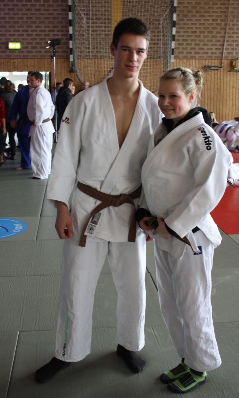 Unsere beiden NDEM – Starter: Björn und Berit