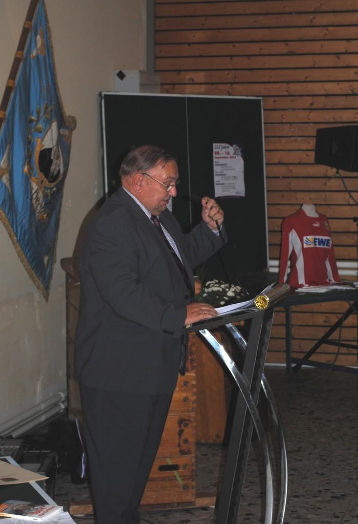 Bürgermeister Hans Wilhelm Saul