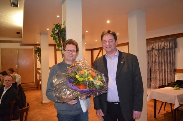 Verabschiedung vom Abteilungsleiter Fußball Uwe Ehrenberg
