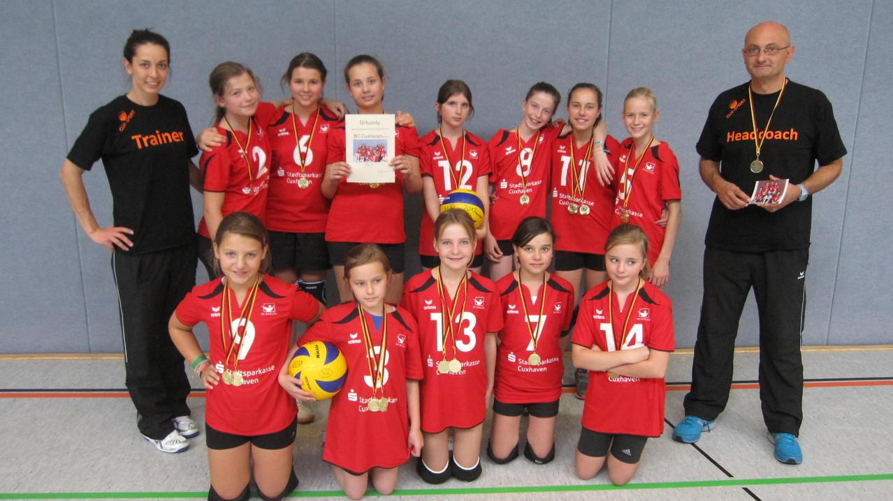 U14-1 - 1. der Regionsmeisterschaften