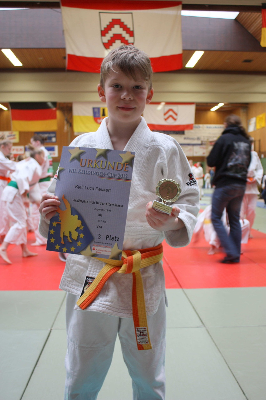 Kjell Luca Peukert, 3. Platz U12: