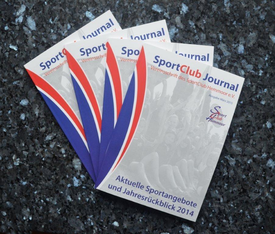 Unsere neuen SportClubjournale sind fertig