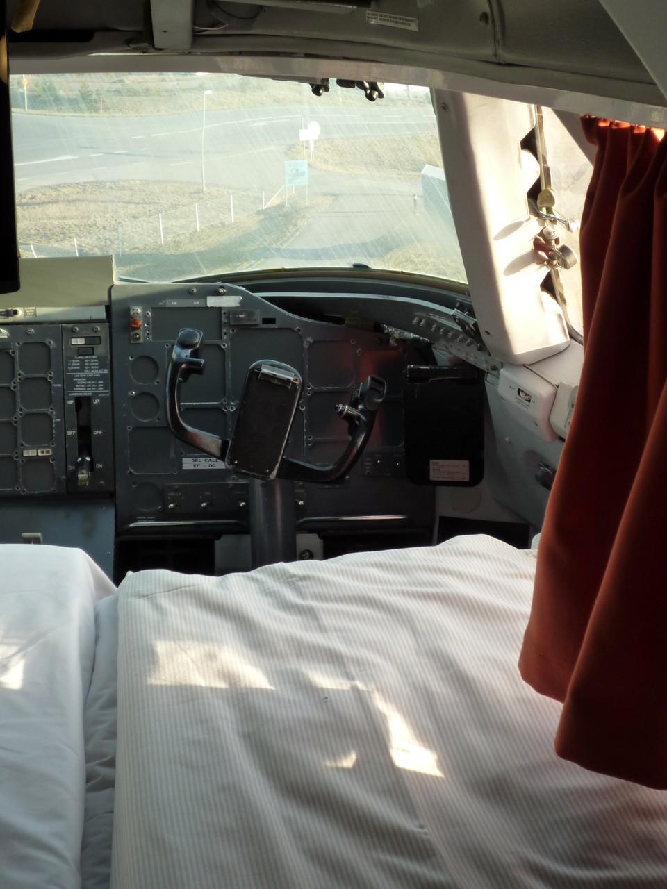 Une nuit dans un cockpit