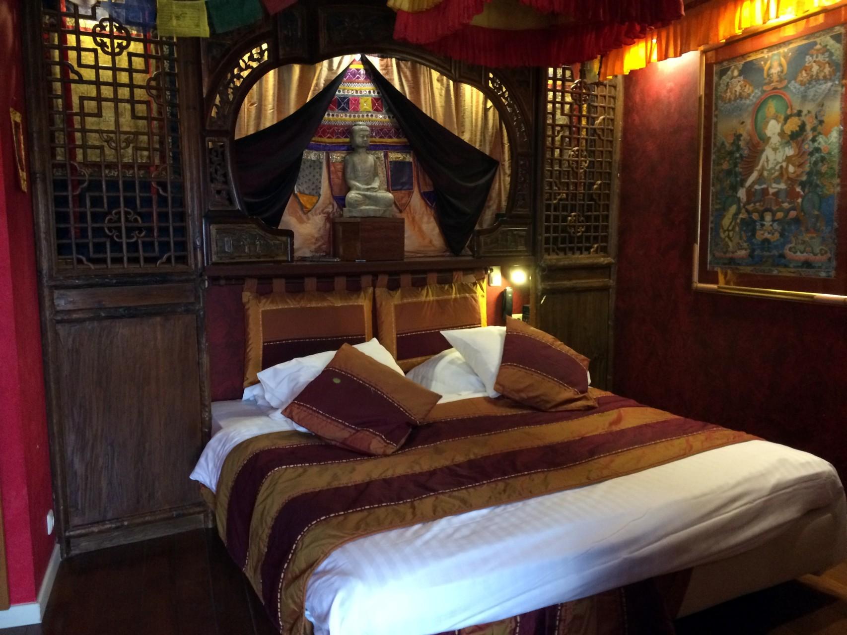 Une nuit au Tibet...