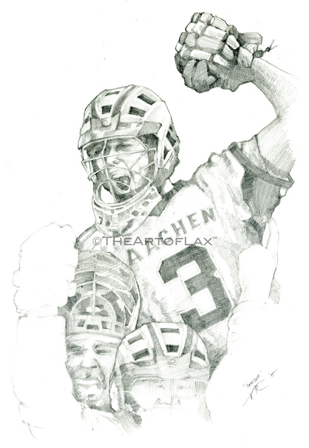 """Gregor Dautzenburg""  Graphite on paper.  Aachen, Germany.  2011."