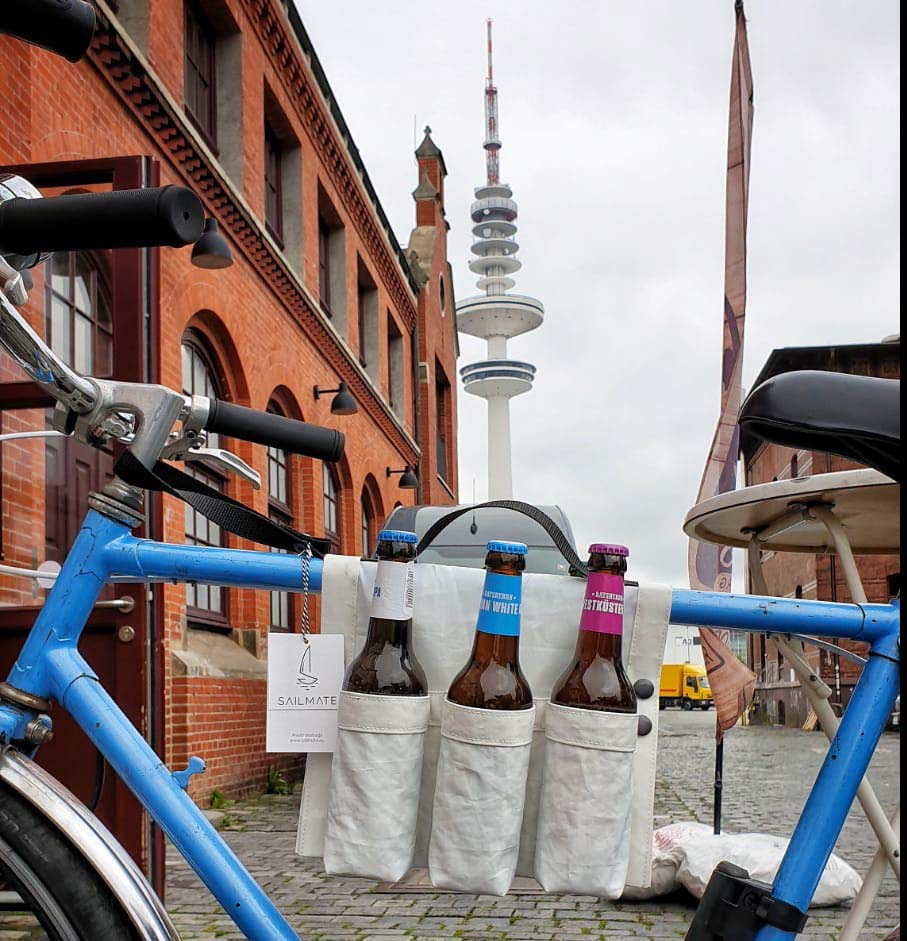 ...on a bike