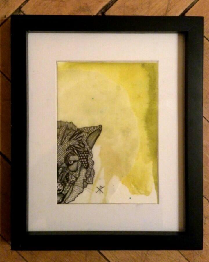 animal farm  | pigmentliner -watercolor |2013
