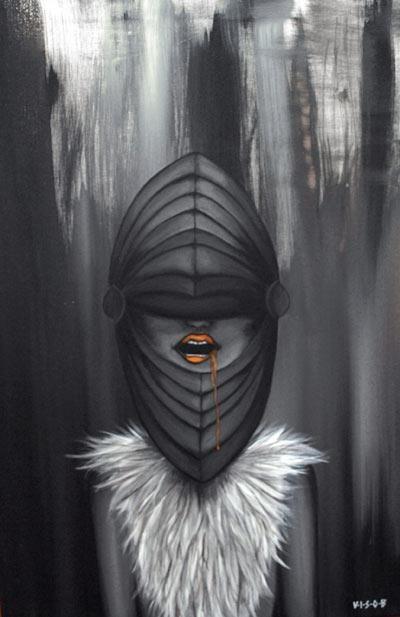 jagd 03 |acryl on canvas | 59x85 cm