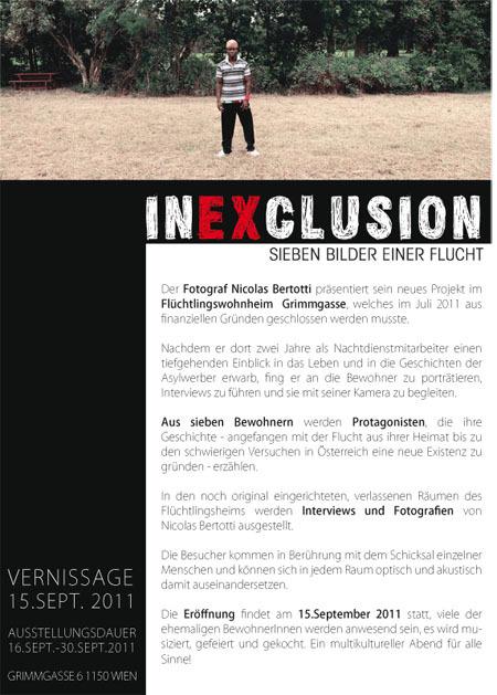 presstext  inexclusion-sieben bilder einer flucht by visob