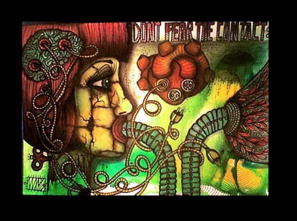contration |105 x 148 | watercolor pigmentliner | 2011 | SOLD