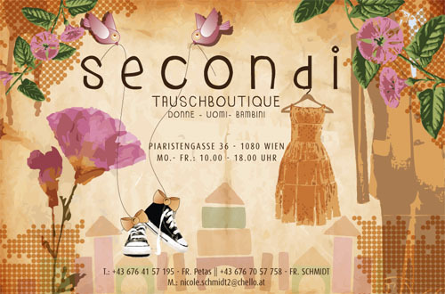 flyerdesign for secondi * by visob *2009