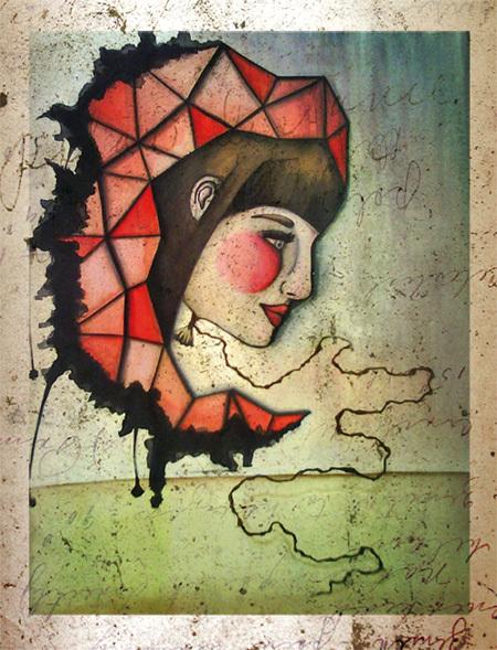leviation | 360 x 480mm | watercolor pigmentliner | 2012
