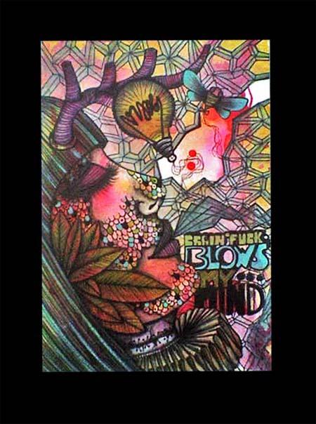 brainfuck |105 x 148 | watercolor pigmentliner | 2011