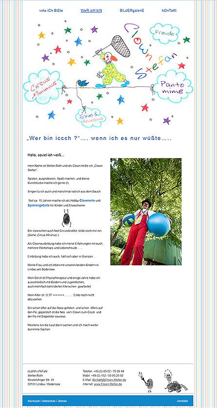 Clown Stefan - Lindau Bodensee