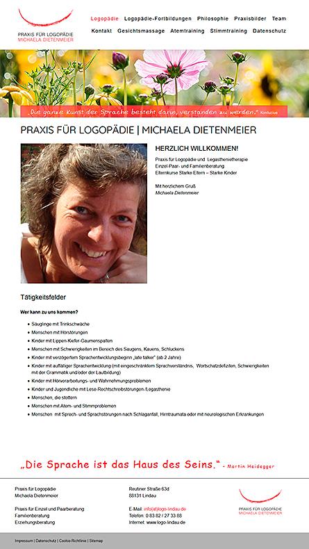 Logopädie Lindau Bodensee - Michaela Dietenmeier