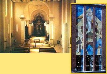 Blick ins Innere der Klosterkirche