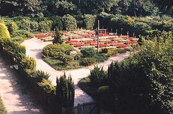 Friedhof vom Kloster Bardel