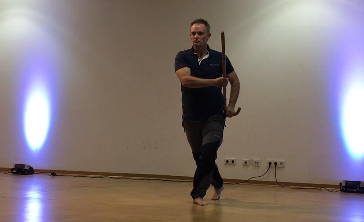 Gala - Paul Fretter performs White Crane - Cane Form