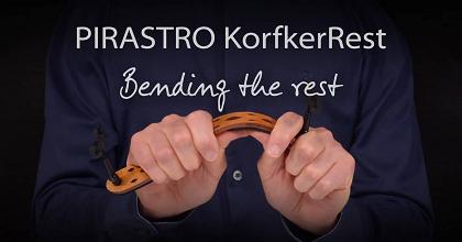 ヴァイオリン教室 バイオリンレッスン 肩当て ピラストロ コルフカーレスト Pirastro KorfkerRest