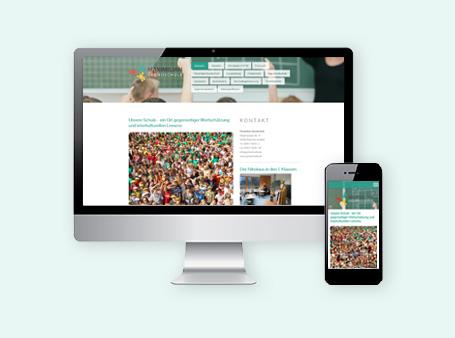Relaunch / Website / Maximilian Grundschule Maxhütte-Haidhof