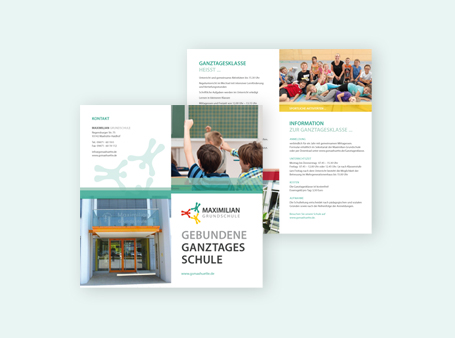 Gestaltung / Flyers / Grundschule Maxhütte-Haidhof
