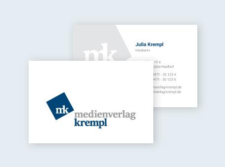 Visitenkarte / Medienverlag Krempl