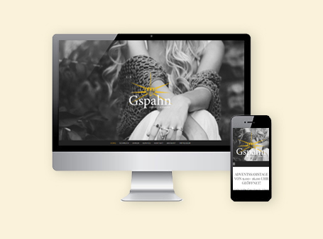 Relaunch / Webvisitenkarte / Schmuck Gspahn