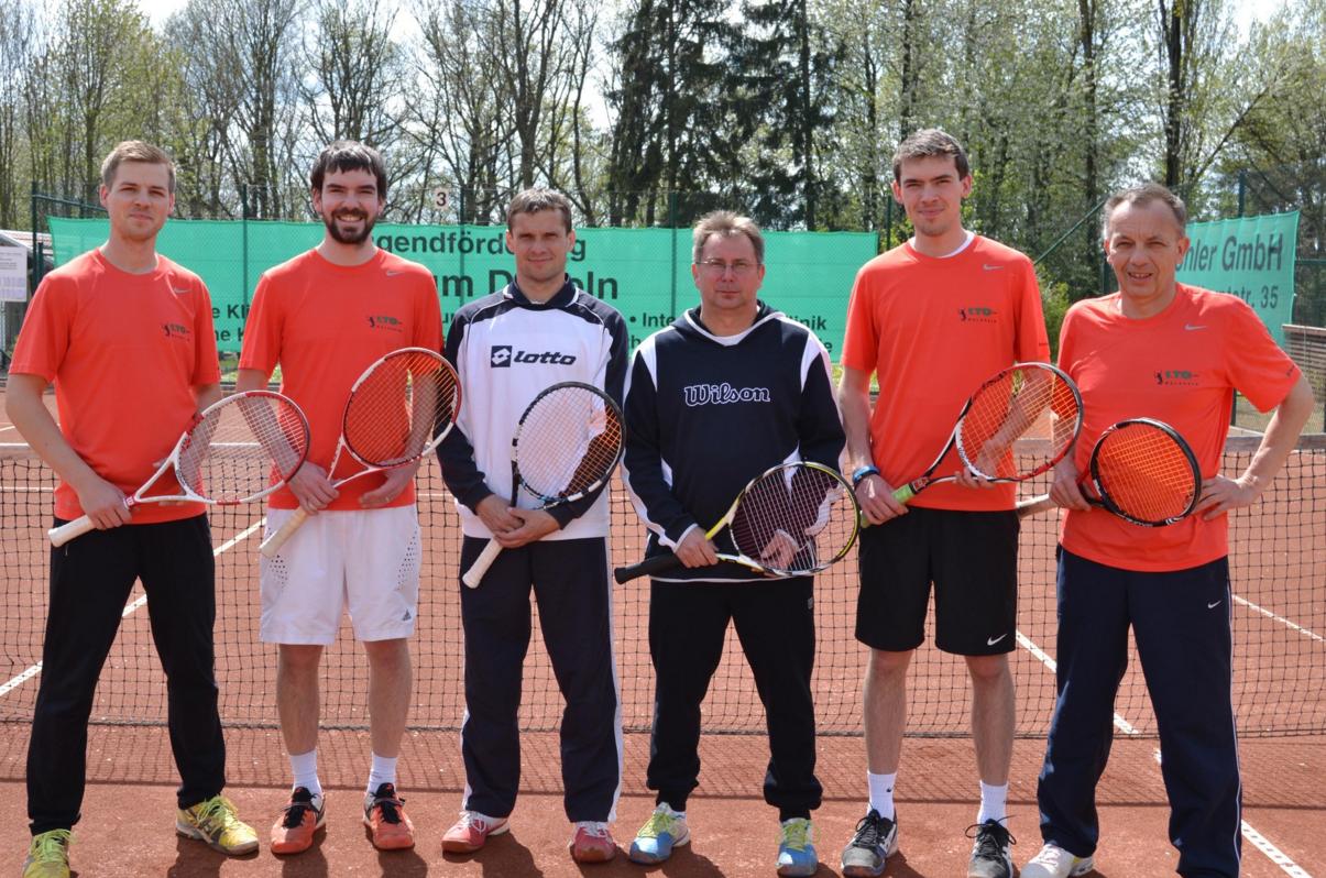 v.l.n.r.: Stefan Schneider, Christoph S., Petr Drabek, Libor Nehasil, Konrad S., Ernst S.