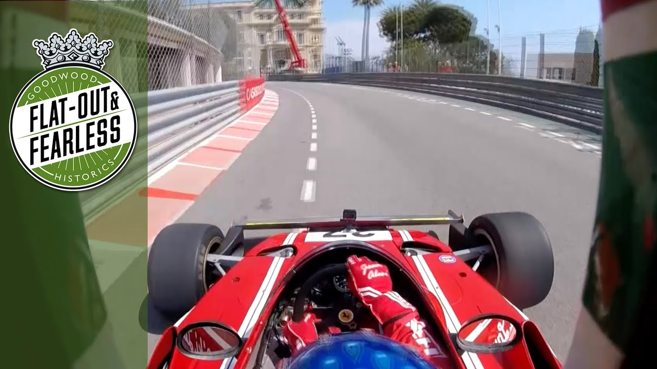 VIDÉO - Embarquez avec Jean Alesi dans une Ferrari 312 à Monaco