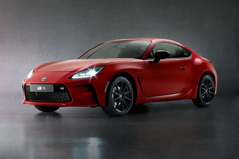 Toyota dévoile son coupé sportif GR86