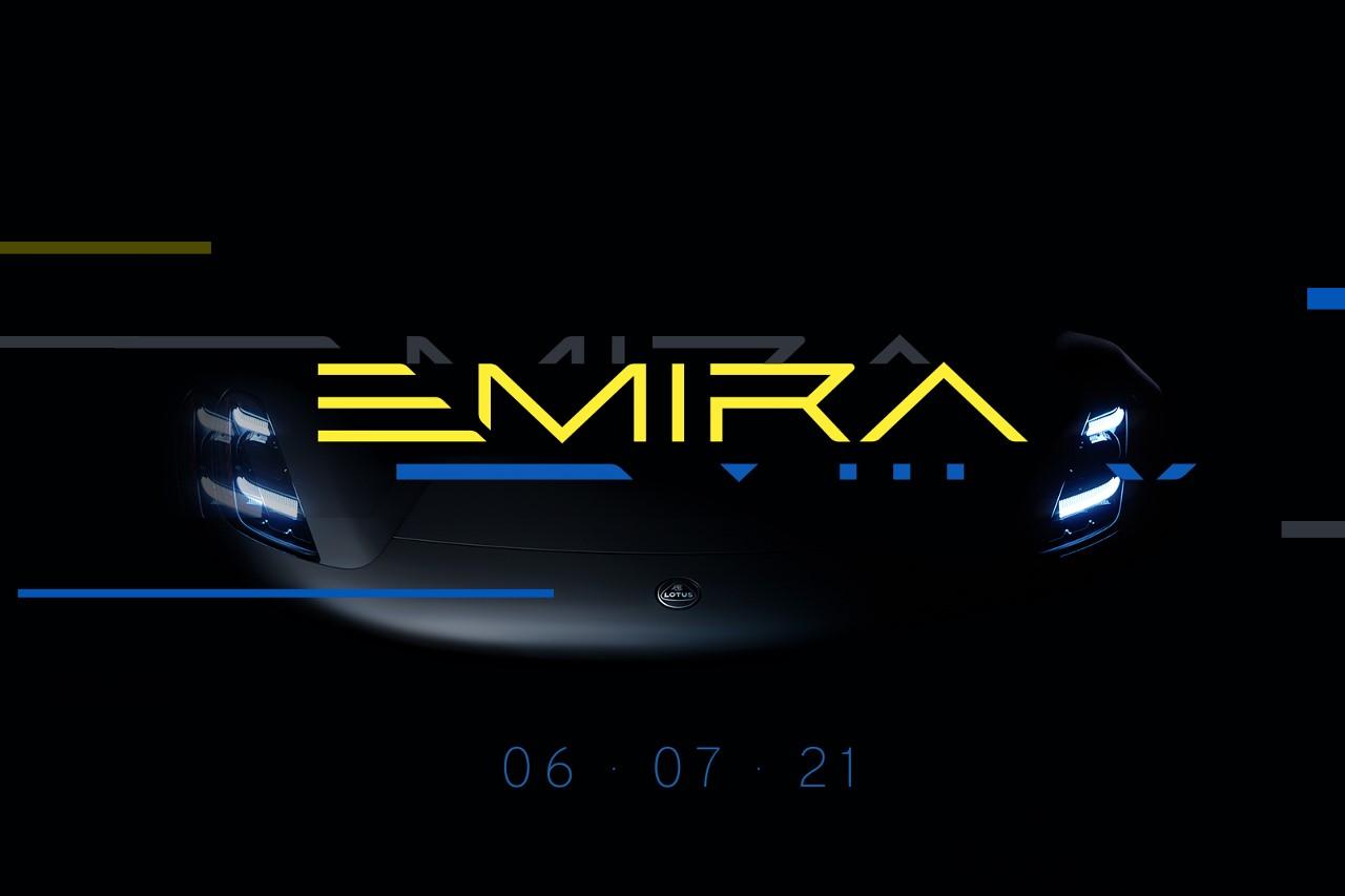 Lotus Emira 2021 - La dernière Lotus thermique se montre !
