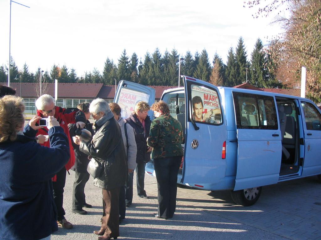 Ankunft in Henndorf