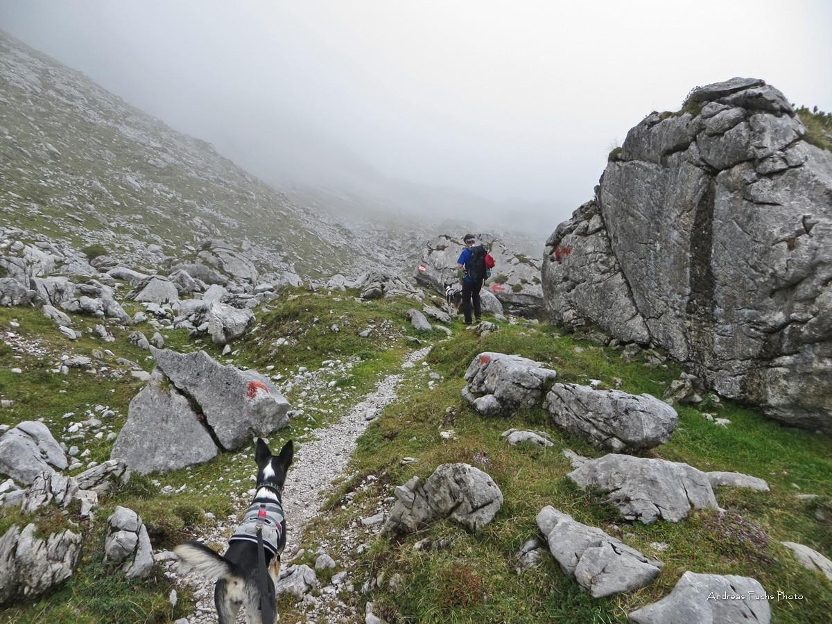 Durch das Felsenmeer zur Coburger Hütte