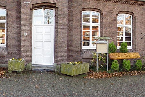 Haupteingang der Grundschule im September 2010 mit neuen Pflanzkübeln