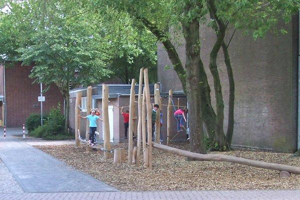 Niedrigseilgarten im September 2010
