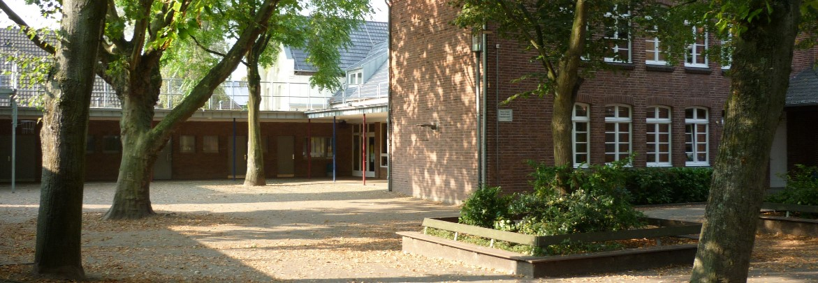 Schulhof der Franziskus Grundschule