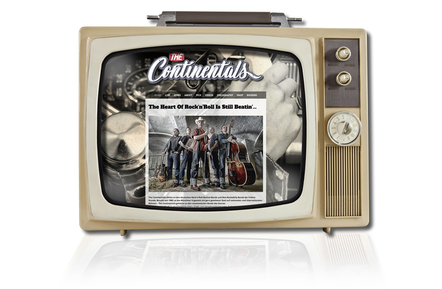 Website The Continentals Germany
