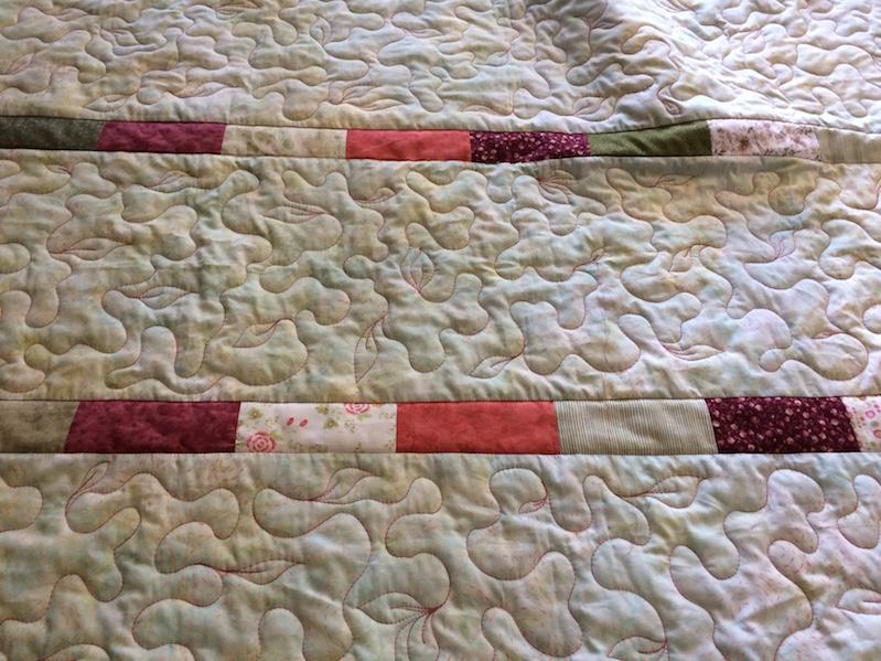 zweiseitiger Quilt (Quiltauftrag)