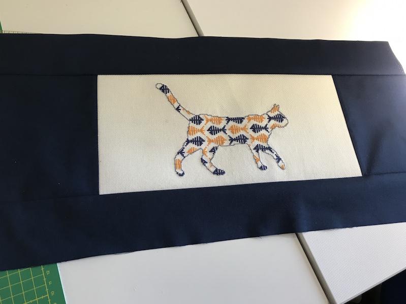 Kreuzstich-Katze