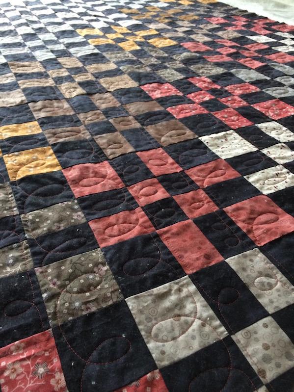 Schachbrettquilt (Quiltauftrag)