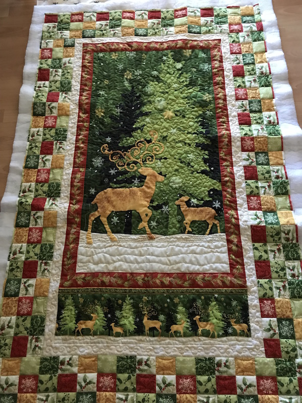 Wandbehang (Quiltauftrag)