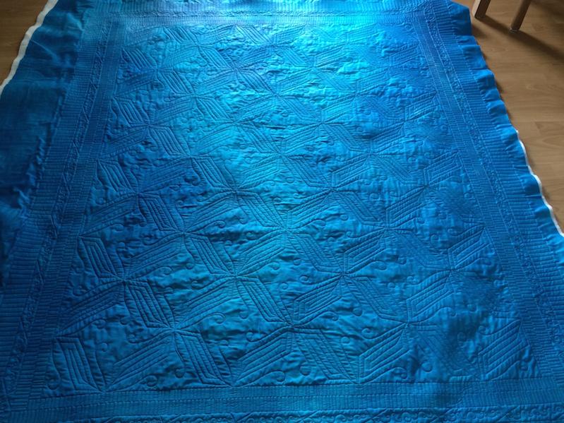 Rückseite Wandbehang (Quiltauftrag)