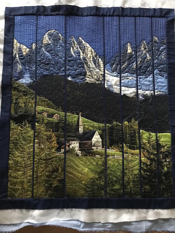 Landschaftsbild (Quiltauftrag)