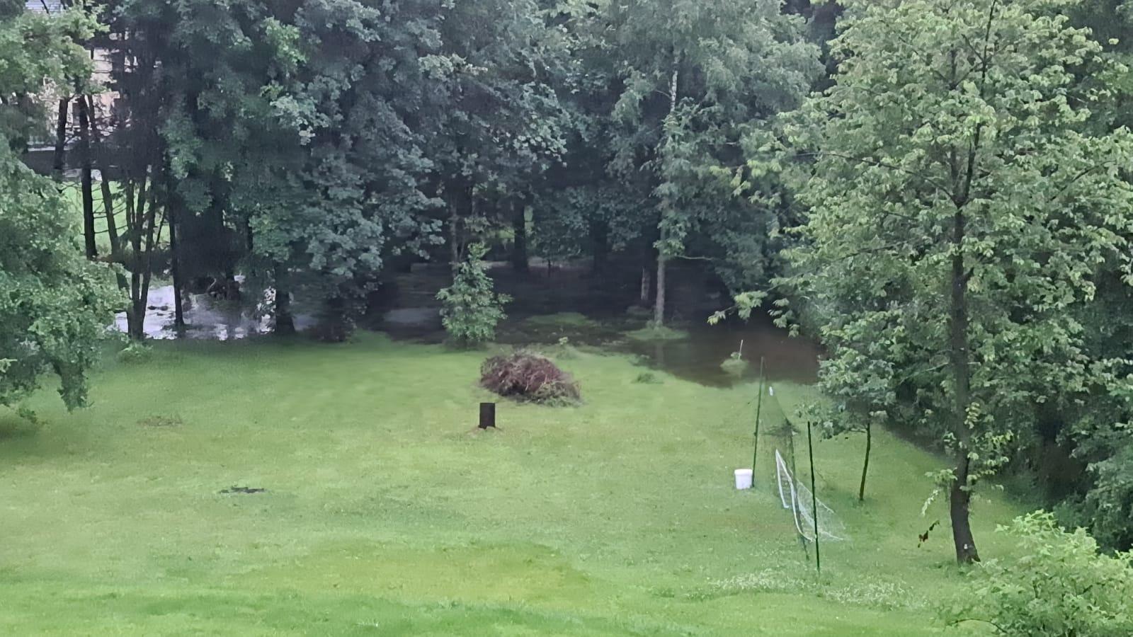 Hochwasser: Hauset blieb verschont