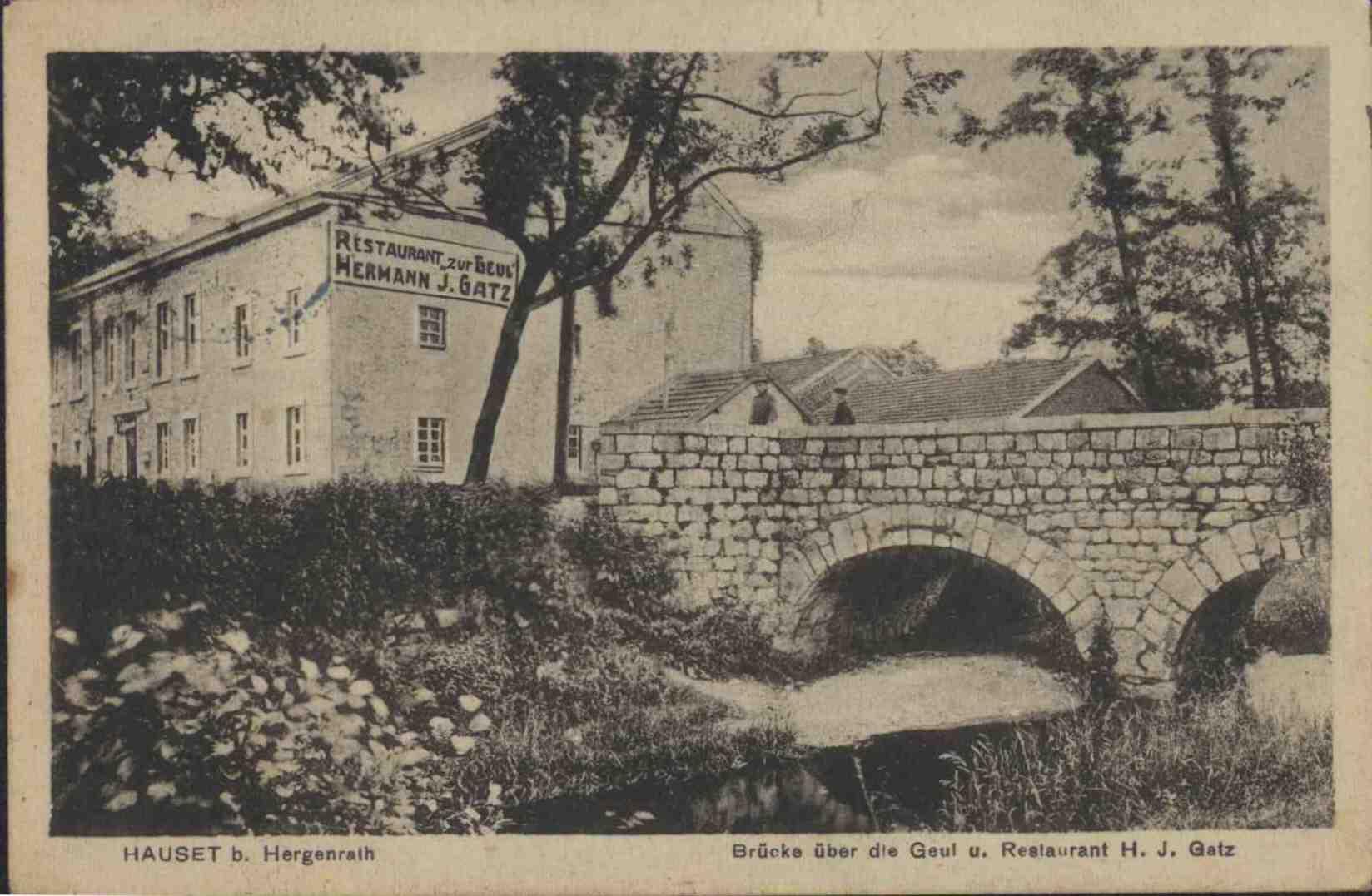 Restauration Gatz - Göhlbrücke