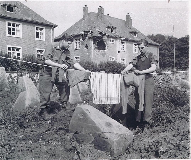 Kriegsende in Hauset