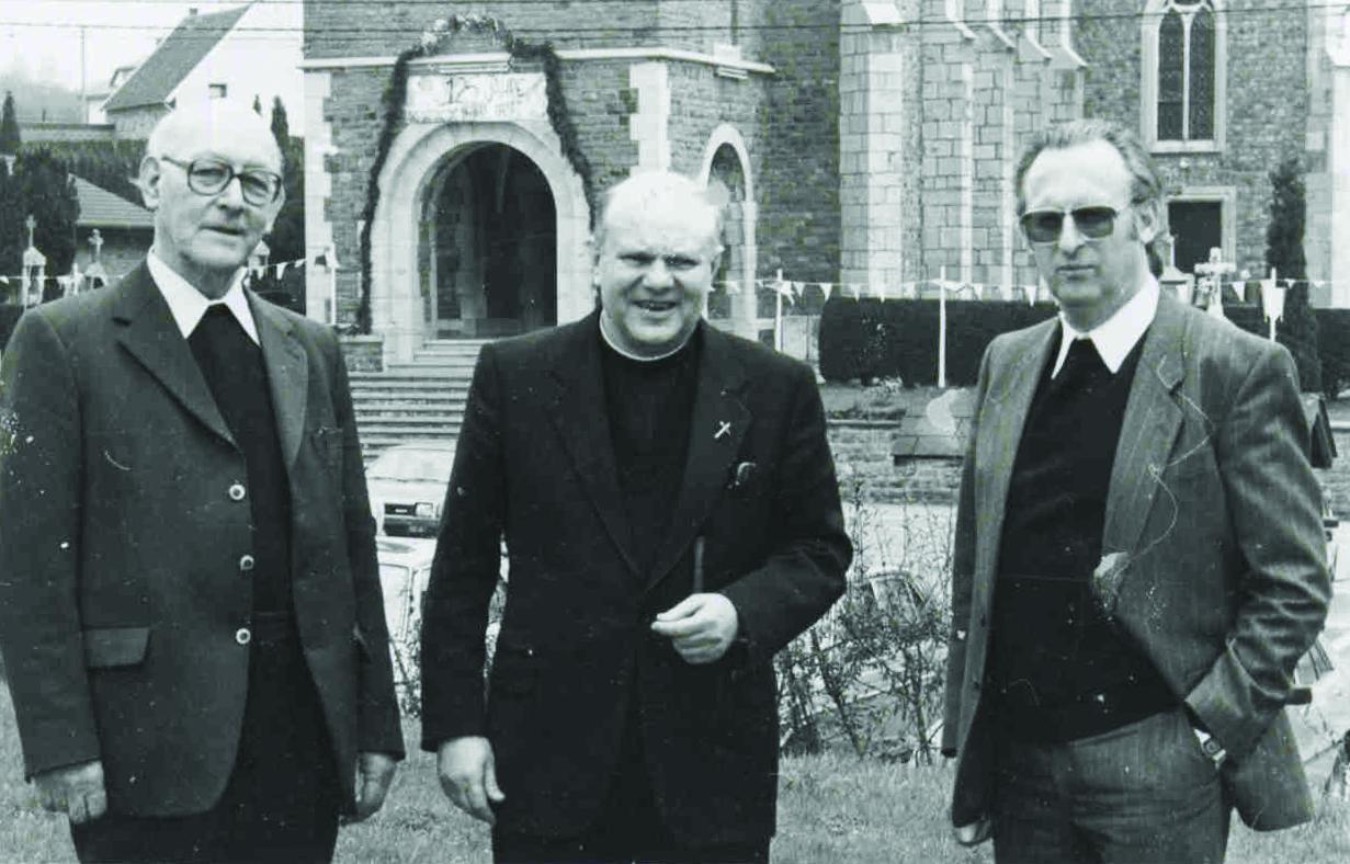 Mit Pfarrer Levieux und Pater Finken